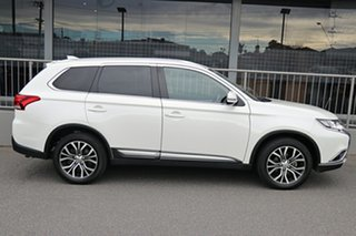 2018 Mitsubishi Outlander ZL MY18.5 LS AWD White 6 Speed Constant Variable Wagon.