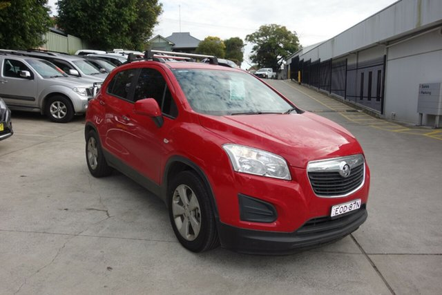 Used Holden Trax TJ MY16 Active East Maitland, 2016 Holden Trax TJ MY16 Active Red 6 Speed Automatic Wagon