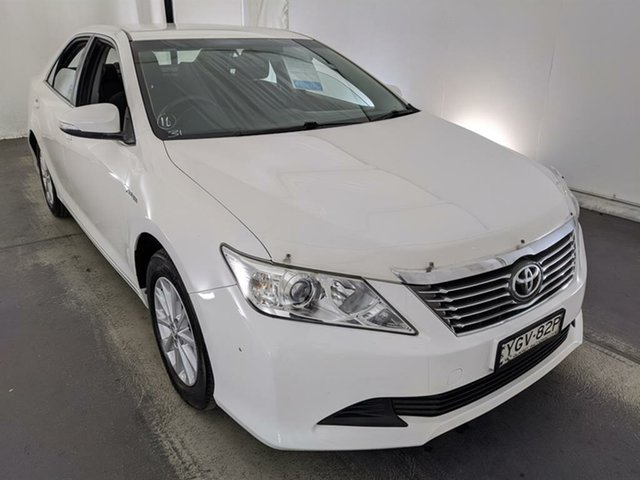 Used Toyota Aurion GSV50R AT-X Maryville, 2013 Toyota Aurion GSV50R AT-X White 6 Speed Sports Automatic Sedan