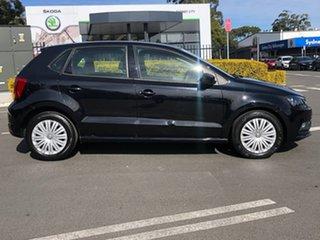 2015 Volkswagen Polo 6R MY15 66TSI DSG Trendline Black 7 Speed Sports Automatic Dual Clutch.