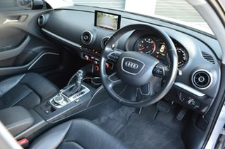 2015 Audi A3 8V MY16 Attraction S Tronic Grey 7 Speed Sports Automatic Dual Clutch Sedan