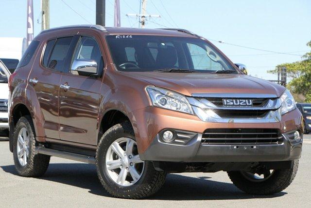 Used Isuzu MU-X MY16.5 LS-T Rev-Tronic Rocklea, 2016 Isuzu MU-X MY16.5 LS-T Rev-Tronic Outback Bronze 6 Speed Sports Automatic Wagon