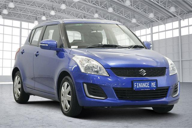 Used Suzuki Swift FZ MY15 GL Victoria Park, 2015 Suzuki Swift FZ MY15 GL Blue 4 Speed Automatic Hatchback