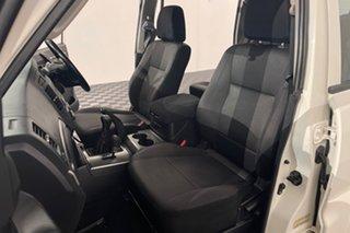 2011 Mitsubishi Pajero NT MY11 GLX White 5 speed Manual Wagon