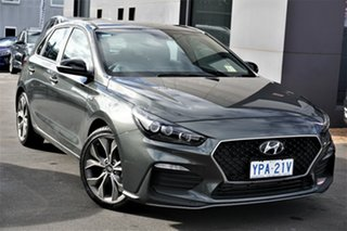 2021 Hyundai i30 PD.V4 MY21 N Line Amazon Gray 6 Speed Manual Hatchback.