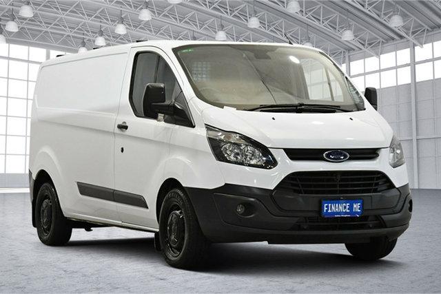 Used Ford Transit Custom VN 290S Low Roof SWB Victoria Park, 2015 Ford Transit Custom VN 290S Low Roof SWB Frozen White 6 Speed Manual Van