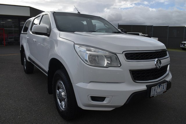 Used Holden Colorado RG MY16 LS Crew Cab 4x2 Wantirna South, 2016 Holden Colorado RG MY16 LS Crew Cab 4x2 White 6 Speed Sports Automatic Utility