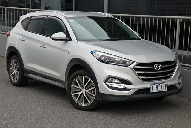 Pre-Owned Hyundai Tucson TL Active X 2WD Preston, 2016 Hyundai Tucson TL Active X 2WD Silver 6 Speed Sports Automatic Wagon