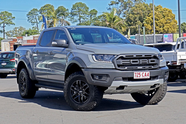 Used Ford Ranger PX MkIII 2020.25MY Raptor Chandler, 2020 Ford Ranger PX MkIII 2020.25MY Raptor Grey 10 Speed Sports Automatic Double Cab Pick Up