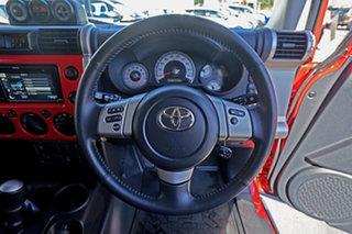 2015 Toyota FJ Cruiser GSJ15R MY14 Red 5 Speed Automatic Wagon