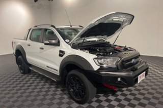 2018 Ford Ranger PX MkII 2018.00MY Wildtrak Double Cab White 6 speed Automatic Utility