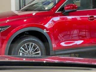 2021 Mazda CX-5 KF4WLA Touring SKYACTIV-Drive i-ACTIV AWD Blue 6 Speed Sports Automatic Wagon