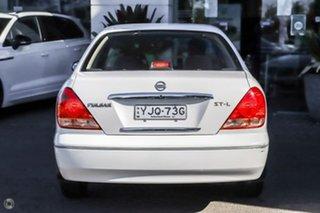 2004 Nissan Pulsar N16 S2 ST-L White 4 Speed Automatic Sedan