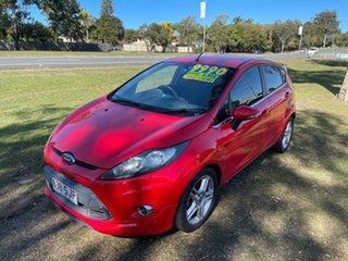2012 Ford Fiesta WT Zetec Red 5 Speed Manual Hatchback.