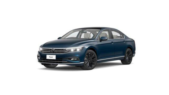 New Volkswagen Passat 3C (B8) MY21 162TSI DSG Elegance Botany, 2021 Volkswagen Passat 3C (B8) MY21 162TSI DSG Elegance Blue 6 Speed Sports Automatic Dual Clutch