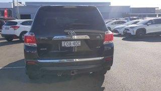 2012 Toyota Kluger GSU45R MY12 KX-R AWD Black 5 Speed Sports Automatic Wagon.