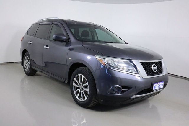 Used Nissan Pathfinder R52 ST (4x4) Bentley, 2014 Nissan Pathfinder R52 ST (4x4) Grey Continuous Variable Wagon