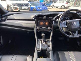 2019 Honda Civic 10th Gen MY19 VTi-LX Grey 1 Speed Constant Variable Hatchback