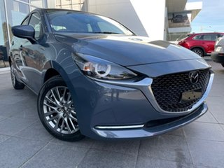 2021 Mazda 2 DJ2HAA G15 SKYACTIV-Drive GT Grey 6 Speed Sports Automatic Hatchback.