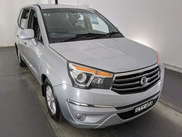 Used Ssangyong Stavic A100 MY14 Maryville, 2014 Ssangyong Stavic A100 MY14 Silver 5 Speed Sports Automatic Wagon