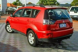 2012 Mitsubishi Outlander ZH MY12 LS 2WD Red 6 Speed Constant Variable Wagon.