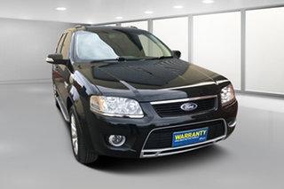 2009 Ford Territory SY MkII Ghia Black 4 Speed Sports Automatic Wagon.