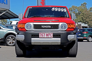 2015 Toyota FJ Cruiser GSJ15R MY14 Red 5 Speed Automatic Wagon.
