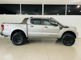 2015 Ford Ranger PX MkII Wildtrak Double Cab Grey 6 Speed Sports Automatic Utility