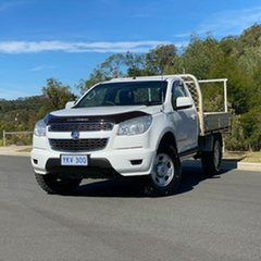 2015 Holden Colorado RG MY15 LS White 6 Speed Sports Automatic Cab Chassis.