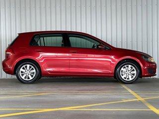 2016 Volkswagen Golf VII MY16 92TSI DSG Trendline Red 7 Speed Sports Automatic Dual Clutch Hatchback.