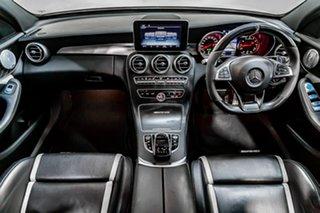 2016 Mercedes-Benz C-Class W205 807MY C63 AMG SPEEDSHIFT MCT S White 7 Speed Sports Automatic Sedan
