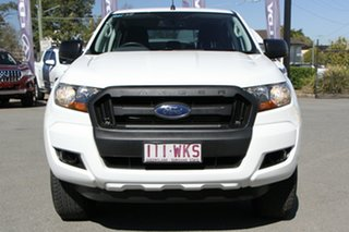 2016 Ford Ranger PX MkII XL Hi-Rider Cool White 6 Speed Sports Automatic Utility