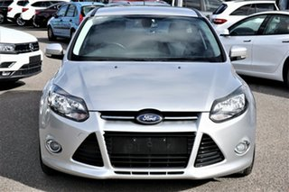 2013 Ford Focus LW MkII Sport Silver 5 Speed Manual Hatchback.