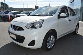 2015 Nissan Micra K13 Series 4 MY15 ST White 4 Speed Automatic Hatchback