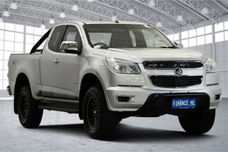 2014 Holden Colorado RG MY14 LTZ Space Cab Silver 6 Speed Sports Automatic Utility.