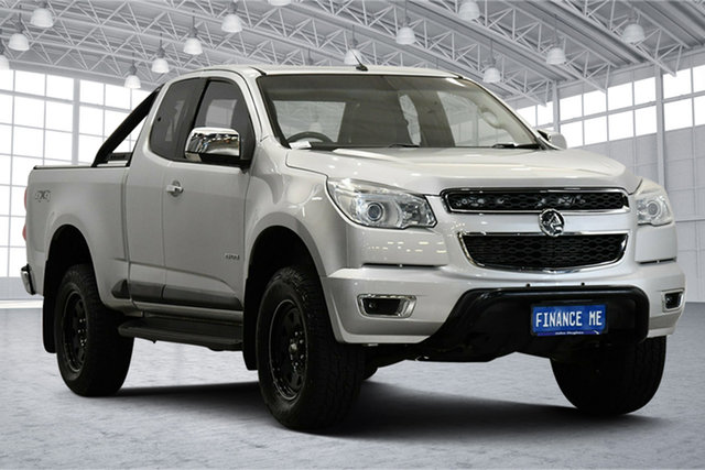 Used Holden Colorado RG MY14 LTZ Space Cab Victoria Park, 2014 Holden Colorado RG MY14 LTZ Space Cab Silver 6 Speed Sports Automatic Utility