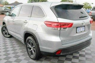 2019 Toyota Kluger GSU50R GX 2WD Silver 8 Speed Sports Automatic Wagon.