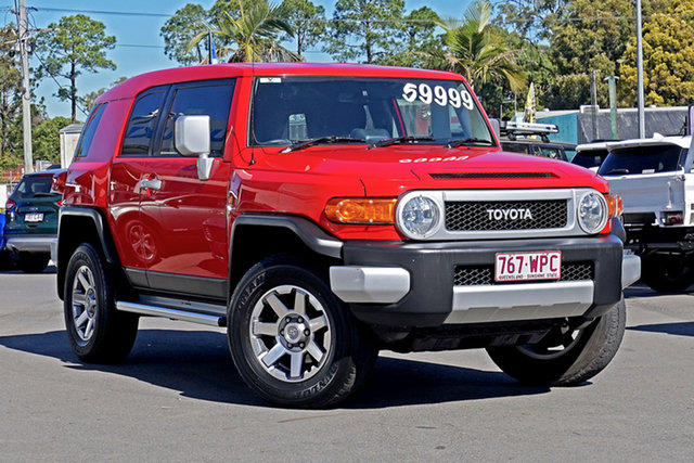 Used Toyota FJ Cruiser GSJ15R MY14 Chandler, 2015 Toyota FJ Cruiser GSJ15R MY14 Red 5 Speed Automatic Wagon