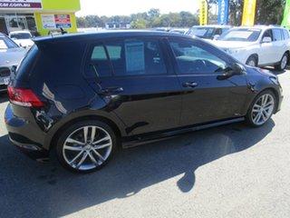 2014 Volkswagen Golf VII MY14 103TSI DSG Highline Black 7 Speed Sports Automatic Dual Clutch