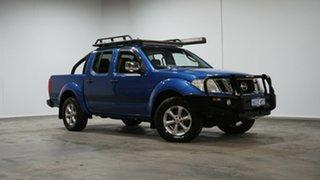 2012 Nissan Navara D40 S5 MY12 ST-X 550 Blue 7 Speed Sports Automatic Utility.