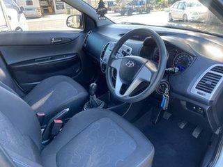 2011 Hyundai i20 PB MY11 Active Silver 5 Speed Manual Hatchback