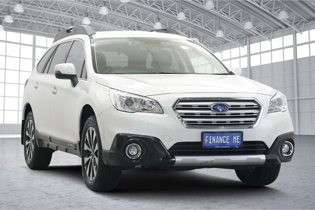 Used Subaru Outback B6A MY17 2.5i CVT AWD Victoria Park, 2017 Subaru Outback B6A MY17 2.5i CVT AWD Crystal Pearl 6 Speed Constant Variable Wagon