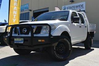 2011 Nissan Navara D40 ST (4x4) White 5 Speed Automatic Dual Cab Pick-up.