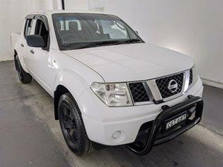 2012 Nissan Navara D40 S6 MY12 ST 4x2 White 6 Speed Manual Utility.