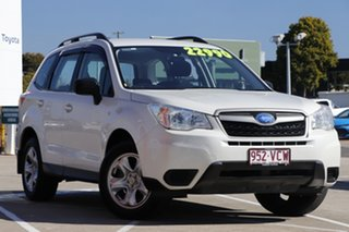2014 Subaru Forester S4 MY14 2.5i Lineartronic AWD White 6 Speed Constant Variable Wagon.