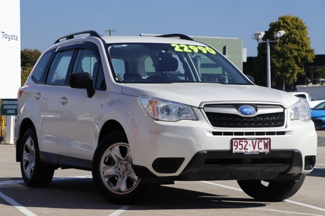 Pre-Owned Subaru Forester S4 MY14 2.5i Lineartronic AWD Albion, 2014 Subaru Forester S4 MY14 2.5i Lineartronic AWD White 6 Speed Constant Variable Wagon