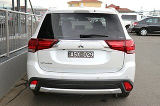 2018 Mitsubishi Outlander ZL MY18.5 LS AWD White 6 Speed Constant Variable Wagon
