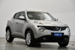 2014 Nissan Juke F15 MY14 ST 2WD Silver 1 Speed Constant Variable Hatchback