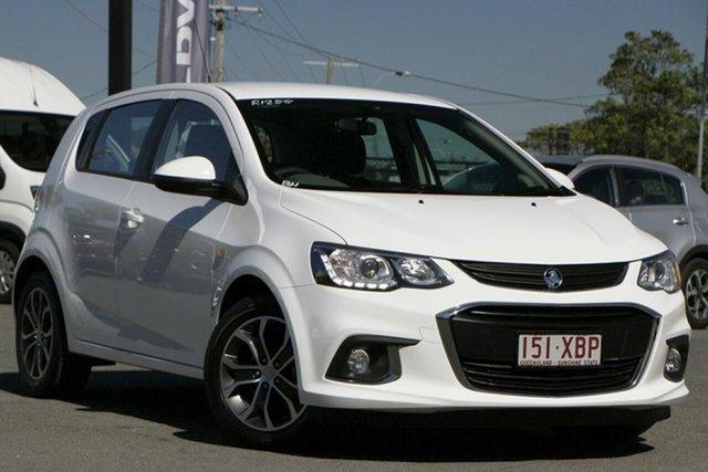 Used Holden Barina TM MY17 LS Rocklea, 2017 Holden Barina TM MY17 LS Summit White 6 Speed Automatic Hatchback