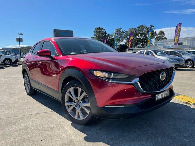 Used Mazda CX-30 DM2W7A G20 SKYACTIV-Drive Pure Glendale, 2020 Mazda CX-30 DM2W7A G20 SKYACTIV-Drive Pure Red 6 Speed Sports Automatic Wagon